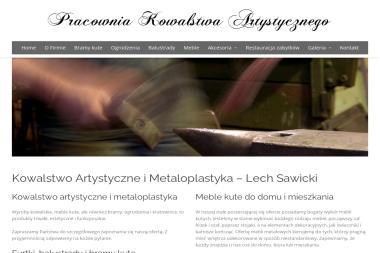 Zakład Kowalstwa Artystycznego - Ogrodzenia kute Szczecin