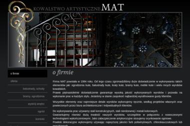 KOWALSTWO ARTYSTYCZNE MAT - Sprzedaż Ogrodzeń GNIEZNO