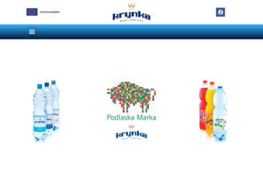 """""""Krynka"""" Sp. z o.o. - Dostawy wody Krynki"""