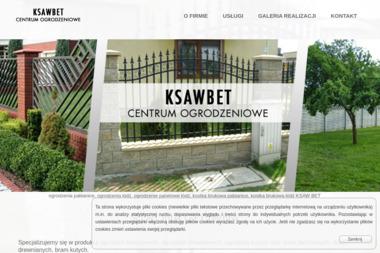 KSAWBET - centrum ogrodzeniowe - Sprzedaż Ogrodzenie Metalowych Pabianice