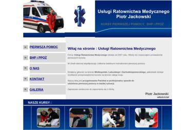 Us艂ugi Ratownictwa Medycznego Piotr Jackowski - Kurs Kpp Lasocice