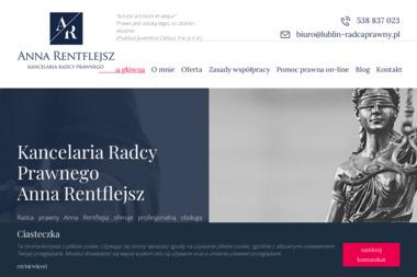 Kancelaria Radcy Prawnego Anna Rentflejsz - Windykacja Lublin