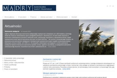 Kancelaria Radcy Prawnego Paweł Mądry - Obsługa prawna firm Legnica