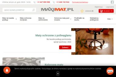 MaxiMat - Wykładziny Sulejów