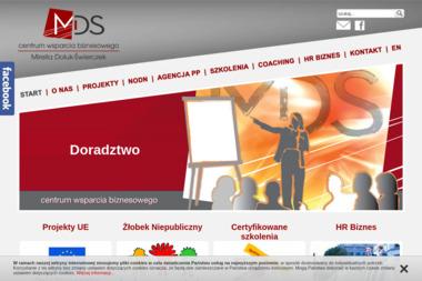 MDS Centrum Wsparcia Biznesowego - Biznes plan Gliwice
