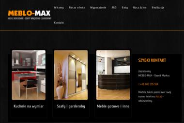 MEBLO-MAX - Wyposażenie wnętrz Sanok