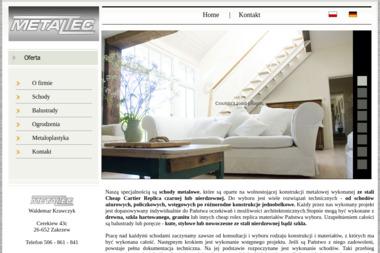 METALTEC - Sprzedaż Ogrodzenie Metalowych Zakrzew