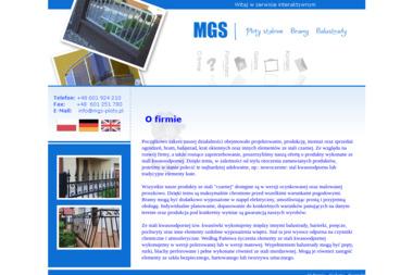 MGS - Ogrodzenia Wolsztyn