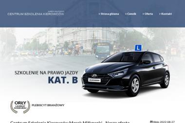 Centrum Szkolenia Kierowców Marek Miłkowski - Jazdy Doszkalające Wołów