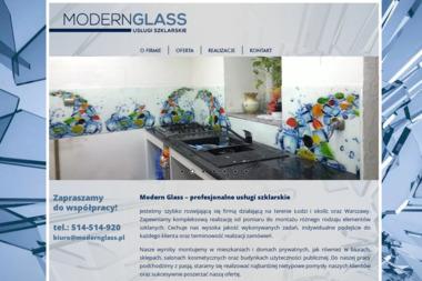 MODERN GLASS - Szklenie Łódź