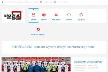 P.H.U. MAKS - Okna Aluminiowe Opole