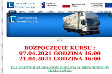 Prywatna Nauka Jazdy Henryk Mordzak - Kurs Na Prawo Jazdy Głogów