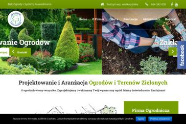 B&K OGRODY I SYSTEMY NAWADNIANIA - Projektowanie ogrodów Piła