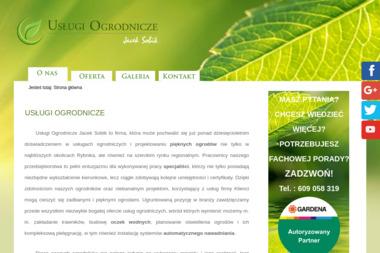 Usługi Ogrodnicze Jacek Sobik - Projektowanie Zieleni Rybnik