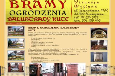 Ogrodzenia Ireneusz Wojtyna - Bramy Krasnystaw