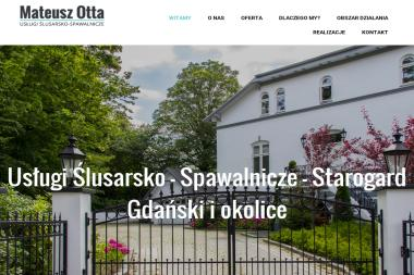 Usługi Ślusarsko - Spawalnicze - Ogrodzenia kute Czarnocin