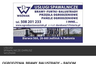 Usługi Spawalnicze Dariusz Woźniak - Przęsła Metalowe Jedlińsk