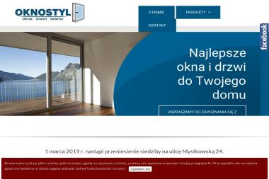 OKNOSTYL - Drzwi Wejściowe Wysokie Mazowieckie