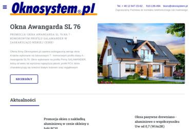 Oknosystem.pl - Okna drewniane Kraków