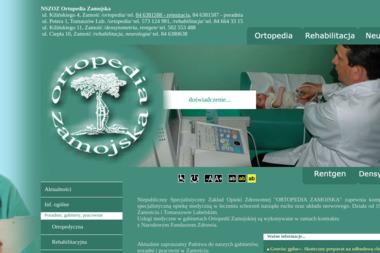 NSZOZ Ortopedia Zamojska - Salon Masażu Zamość