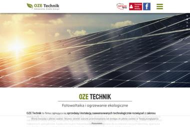 OZE Technik - Fotowoltaika Gryfino