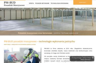 PM-BUD posadzki maszynowe - Posadzki przemysłowe Rogowo