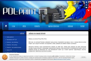 Firma Poligraficzno-Reklamowa POL-Print - Opieka Informatyczna Skierniewice