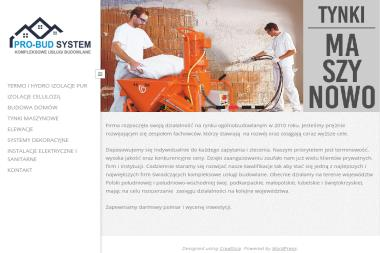 PRO-BUD SYSTEM - Wykonanie Instalacji Elektrycznych Lubaczów