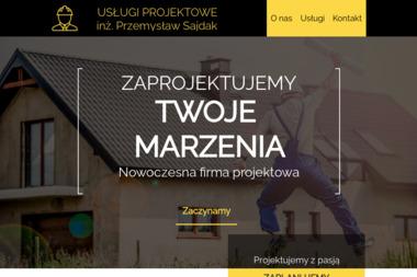 Projektowanie Architektoniczno Konstrukcyjne inż. Przemysław Sajdak - Projekty Domów Jednorodzinnych Jedlicze