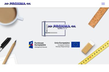 Przedsiębiorstwo Produkcyjno - Usługowo - Handlowe PROXIMA Sp. z o.o. - Adaptacja projektów Chodzież