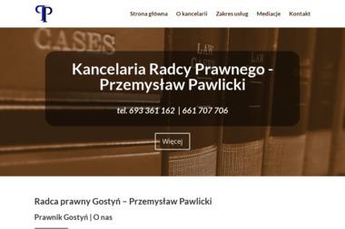 Kancelaria Radcy Prawnego  Przemysław Pawlicki - Windykacja Gostyń