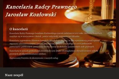 KANCELARIA RADCY PRAWNEGO Jarosław Kozłowski - Usługi Windykacyjne Słońsk