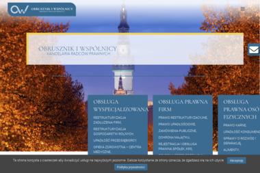 OBRUSZNIK I WSPÓLNICY KANCELARIA RADCÓW PRAWNYCH - Obsługa prawna firm Częstochowa