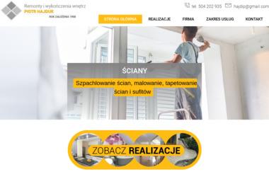 Usługi remontowo-wykończeniowe Piotr Hajduk - Glazurnik Strzeleczki