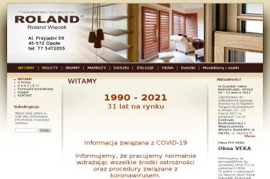 Roland - Okna PCV Opole