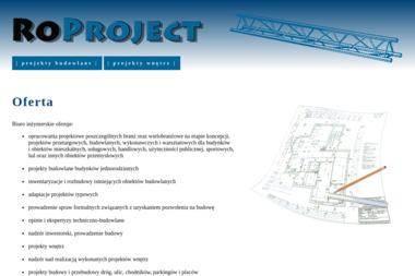 ROPROJECT Radosław Roman - Kierownik budowy Nidzica