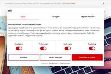 """rychlak.design"" Studio Grafiki Komputerowej Robert Rychlak - Strony internetowe Jarocin"