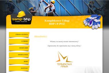Centrum Usług BHP SAMP - Firma audytorska Kępno