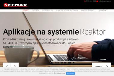 SETMAX - Strony internetowe Krosno