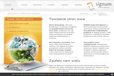 Signum - Agencja interaktywna Siedlce