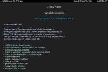 P.P.H.U GERA - Szklenie Kutno