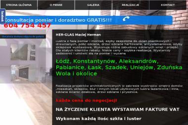 HER-GLAS Maciej Herman - Szklarz Lutomiersk