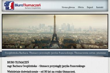 TŁUMACZ PRZYSIĘGŁY JĘZYKA FRANCUSKIEGO - Tłumacze Gostyń