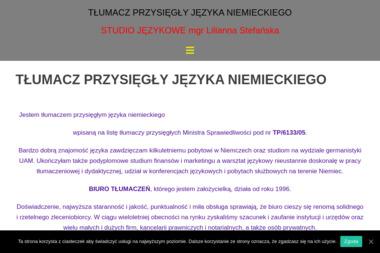 Tłumacz Przysięgły Języka Niemieckiego  mgr Lilianna Stefańska - Tłumaczenia dokumentów Inowrocław