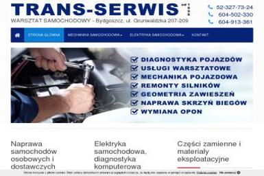 TRANS-SERWIS - Usługi motoryzacyjne Bydgoszcz