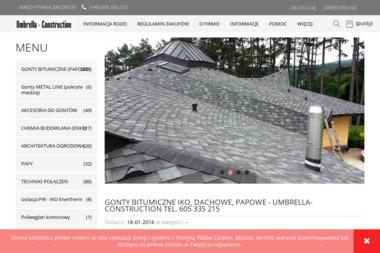 Umbrella-Construction - Wełna mineralna Gdynia
