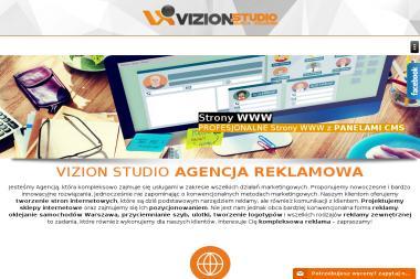 Agencja Reklamowa Vizion Studio - Agencja interaktywna Mińsk Mazowiecki