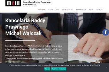 Kancelaria Radcy Prawnego Michał Walczak - Porady Prawne Łódź