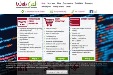 WebCat - Agencja interaktywna Nysa