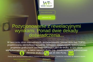 Agencja Interaktywna Webtarget - Marketing Internetowy Toruń